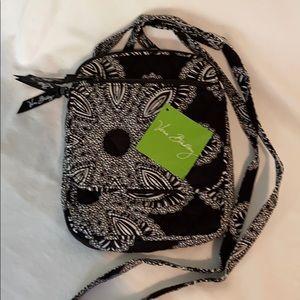 Vera Bradley Mini Hipster Blanco Bouquet Bag NWT